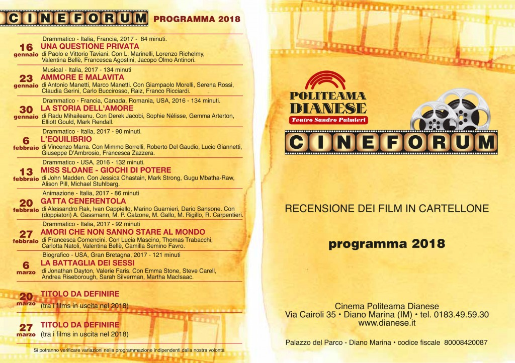 cineforum18 libretto diano
